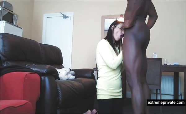 My Mom Sucks Black Cock In Her Clothes