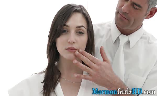 Teenage Mormon Spunked