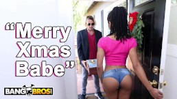 BANGBROS – Black Pornstar Kira Noir Takes Anal From Her BF Tyler Nixon
