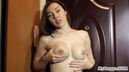 Pregnant Sabrina E52 Sabrina Empties Her Full Aching Tits