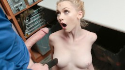 ShopLyfter – Cute Blonde Athena Rayes Fucked In The Security Room