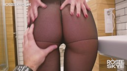 Rubbing & Cumming In My Pantyhose & Pull Them Up Before Bachelorette Party