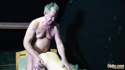 Amazing Teen Amateur Getting Pussy Fucked By Grumpy Old Man