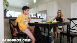 BANGBROS – Black Step Sister Maya Bijou Fucks Brother Juan El Caballo Loco