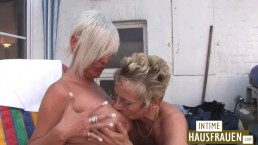 Blonde Girls Mature Lesbo Party