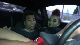 Sexy LightSkin FUCKED In The Car