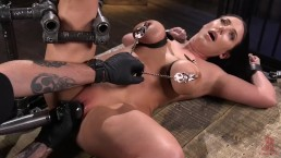 Angela White Tormented In Metal Constraints