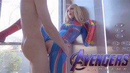 Avengers: Captain Marvel Epic Takes Dick In Her Teen Pussy SiaSiberia