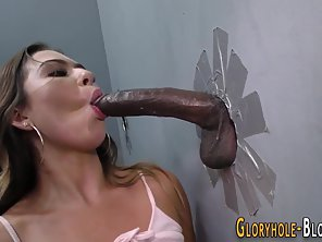Brunette Babe Hungry For Meaty Dick Until Cum Swallows