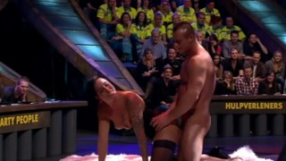 Dutch TV Spuiten En Slikken (23/1/2017) Live Sex Before Studio Audience