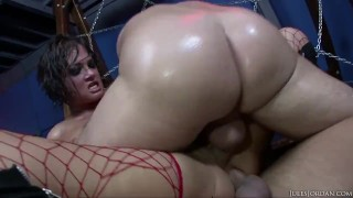 Brunette Tory Lane Rough Anal