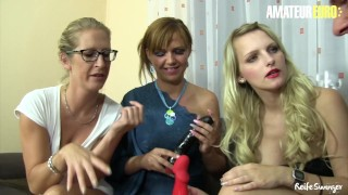 AmateurEuro – Three German MOMS Get All Kinky With A Younger Cock
