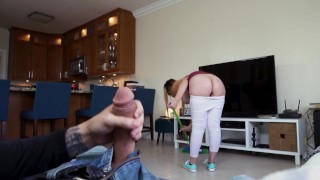 BANGBROS – My Dirty Maid Serena Skye Knows How To Clean Dick