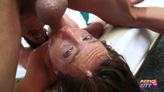 PervCity Nasty Deepthroat Slut Maddy O'Reilly