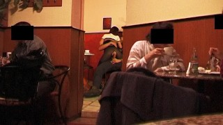 Anal Sex In A Public Coffee Shop