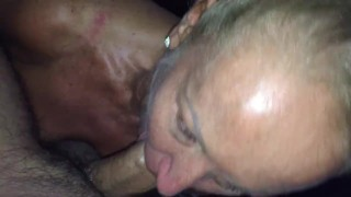 Tanned Submissive British MILF Pleasing Indian Man