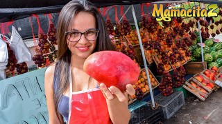 Carne Del Mercado – Nerdy Colombian Teen Makes Her Very First Porn Movie