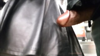 Public Cock And Leather