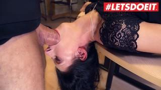 Bums Buero – Secretary Girl Make A Deep Blowjob To Her Boss – LETSDOEIT