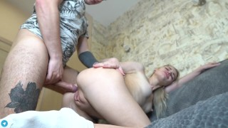 Passionate Sex While Parents Went To The Movies (BelleNiko)
