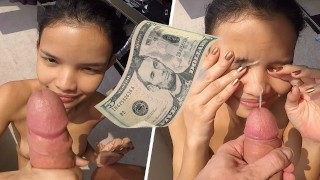 Barely Legal Thai Street Teen Fucked And Facialized For 5 Dollars