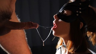 I'VE BEEN A BAD GIRL MY DIRTY MOUTH NEED TO BE PUNISHED. BDSM MOUTHFUCK CIM