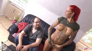 Fat Nerd Twitch Guy Fuck German Redhead Teen And Lose Cum