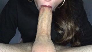 Nonstop Deepthroat Until He Explodes In Her Throat